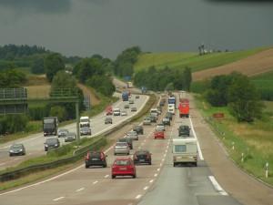 De A9 tussen München en Nürnberg (foto Jeroen de Regt, 2010).